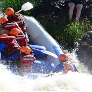 White water rafting in sagana