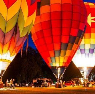 The Launch of Hot Air Balloon at Mara