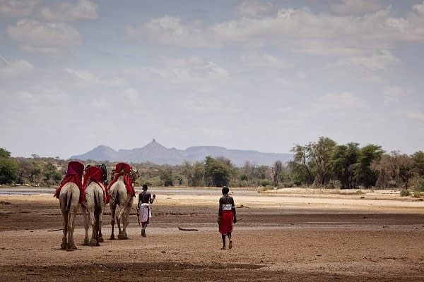 Samburu Camel Ride